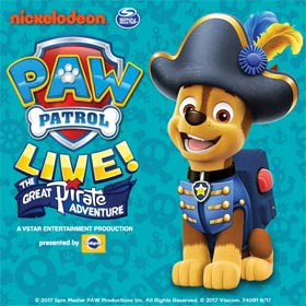 Paw Patrol Live! The Great Pirate Adventure: London