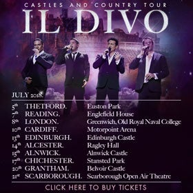 Il Divo: Stratford-upon-Avon Tickets