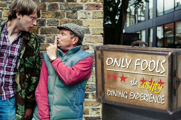 Only Fools, The (cushty) Dining Experience - prod8