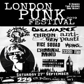 London Punk Festival 2019