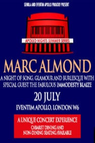 Marc Almond with Special Guest Immodesty Blaize