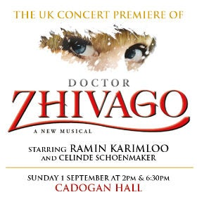Doctor Zhivago Tickets