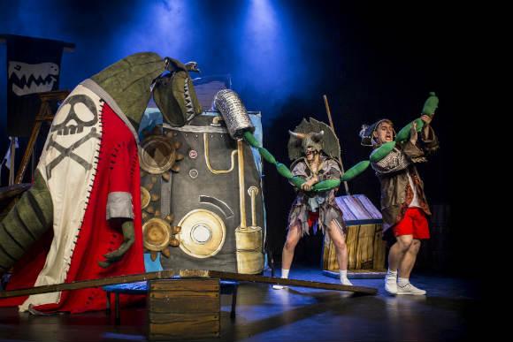 Captain Flinn and the Pirate Dinosaurs- The Magic Cutlass