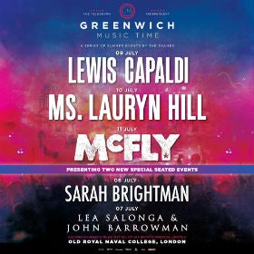 Lewis Capaldi - Greenwich Music Time