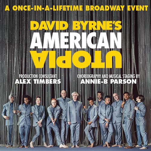 David Byrne's American Utopia tickets