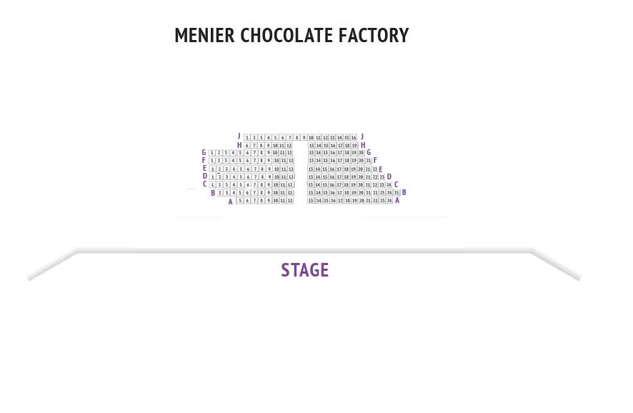 Menier Chocolate Factory Seating Plan