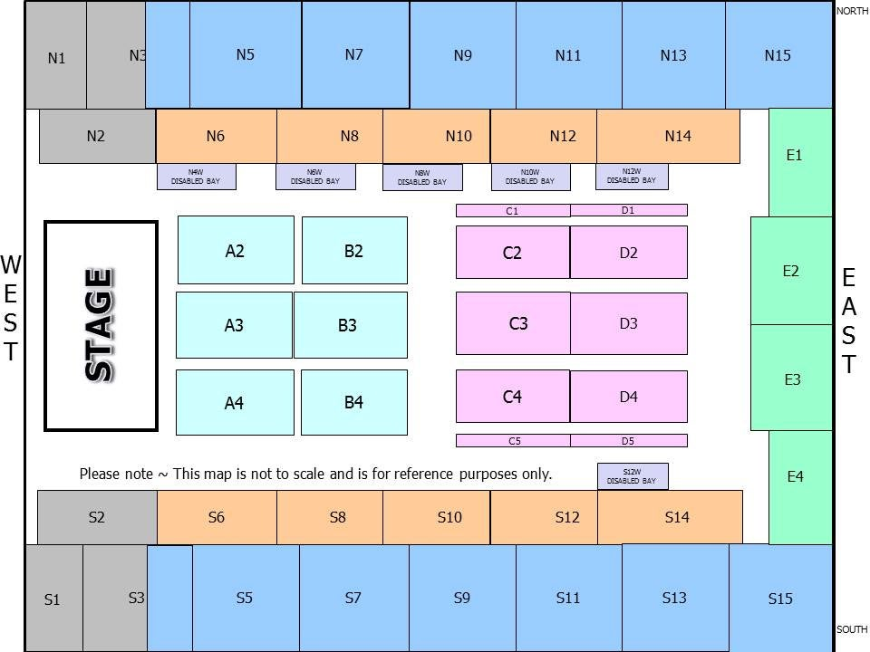 SSE Wembley Arena Seating Plan