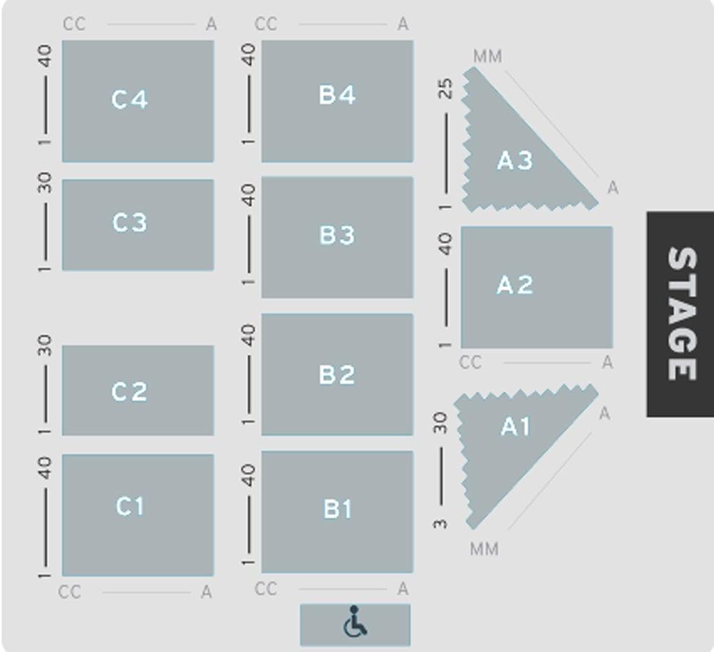 Euston Hall Seating Plan