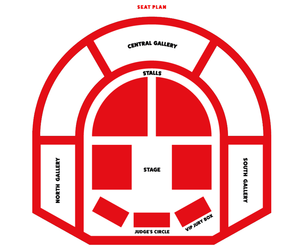 London County Hall Seating Plan